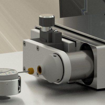 Outil couronne pour appareil de test horloger